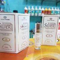 PARFUM AR RAFIF AROMA SILVER 6ML NON ALKOHOL BUKAN AL REHAB ATAU DOB