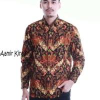 Kemeja Batik Lengan Panjang-Batik Modern-Baju Batik Anak Muda Pria