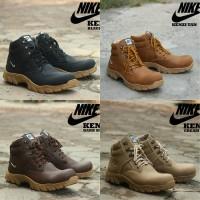 Jual Sepatu Nike Safety Boots Kenzi Hitam Coklat Beige BUKAN yeezy nmd