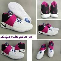Sepatu Basket Nike Kyrie Irving 2 White Pink