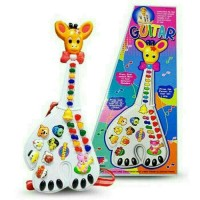 Guitar Music Jerapah Mainan Piano Bayi Dan Anak Baby Toys