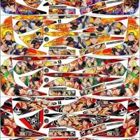 Sticker / Striping Variasi Animasi Mio Soul Gt Old (2012-2014)