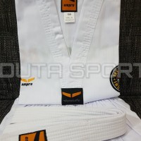 Baju Taekwondo Dobok EMPRO Kerah Putih Original
