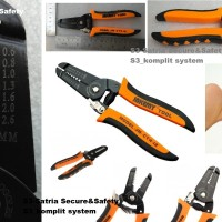 Tang kupas kabel kecil AWG Jakemy Wire Cutter Pliers JM-CT4 12