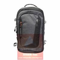 Tas LAPTOP/Ransel/Daypack Eiger 2172 Grey/Black+ Raincover