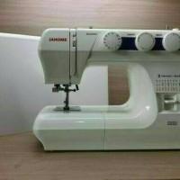 Mesin Jahit JANOME 2222 (Portable) multifungsi ada bonus