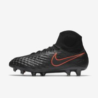 Sepatu Bola Nike Magista Obra II FG Black Original 844595-008