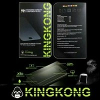 KINGKONG iPhone 4S Anti SPY Privacy Hitam Tempered Glass