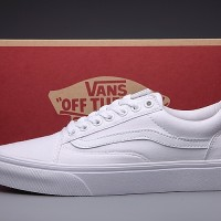 Sepatu Vans Old Skool Full White / Putih Full Murah