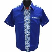 High Quality Seragam / Baju / Kemeja Batik Kantor Restoran Pabrik