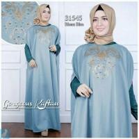 murah baju dress wanita gamis hijab murah bagus tanah abang Riona