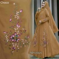 murah baju dress wanita gamis hijab murah bagus tanah abang Narcissus