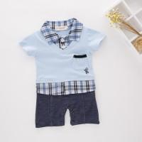 KEVIN BLUE - Romper bayi dan anak import baju jumper bayi cowo impor