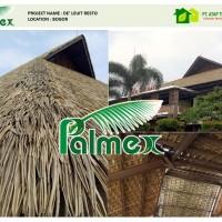 atap alang-alang (rumbia) sintetis - PALMEX 100% waterproof