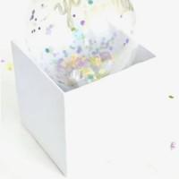 Balloon box. Surprise box. Bisa custom