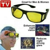 Kacamata New Ask Vision isi 2 Pc / Anti Silau Siang Dan Malam