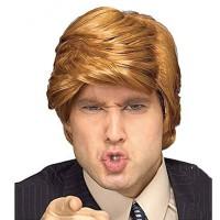 Wig Donald Trump halloween cosplay pesta kostum rambut palsu pirang