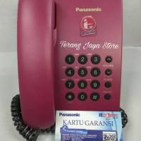 Telepon Kabel Panasonic KX-TS505MX (Merah) Pesawat Telepon RumahTS 505