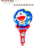 Balon Foil Pentungan Doraemon / Balon Foil Doraemon / Balon Gagang