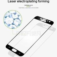 Tempered glass Full 3D Samsung J7PRIME Anti Gores Kaca curved Warna