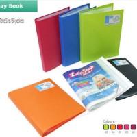 Display Book Folio 60 Pockets Bantex / Clear Holder 3187