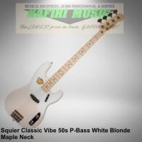Squier Classic Vibe Precision Bass 50s Maple Neck Blonde baru original