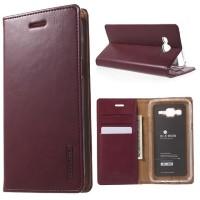 Samsung Galaxy S6 EDGE - Goospery Bluemoon Flip Cover Wallet Case