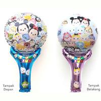 Balon Souvenir Tsum-Tsum/Balon Tsum-Tsum/Balon Tongkat Tsum-Tsum