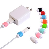 Klip Cable Protector Pelindung Ujung Kabel Charger USB