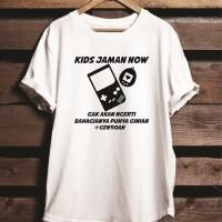 Kaos Baju Combed 30S Tshirt Distro Kids Jaman Now Tamagochi
