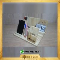 Phone Docking KAYU Exclusive (DOCKING 2 HP + 1 ipad/ tablet + 1 Jam )
