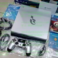 Playstation 4 PS4 Slim 1TB Silver Gran Turismo Ed CUH 2006B (Grns 2Th)