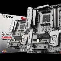 PROMO MURAH MSI X370 XPower Gaming Titanium (Socket AM4 DDR4) HARGA