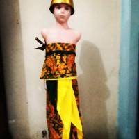 Kostum Halloween Party Baju Adat Jawa Dodotan anak Laki usia TK-SD