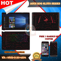 Original Garskin Laptop Full Body Asus ROG GL553 Series Motif Circuit