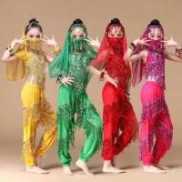 belly dance baju kostum anak aladin jasmine india halloween dance tari