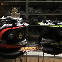 Helm Arai Tourcross Japan seri 3 Mesh Red dan Mesh yellow size M L XL