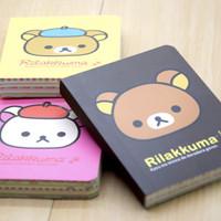 Notebook / Buku Tulis Berwarna dan Bermotif Rilakkuma