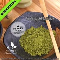 Pure Matcha Teh Hijau GreenTea Bubuk Powder Green Tea Murni 50gr