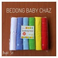 1 Pack Bedong Bayi Baby Chaz (isi 6) - BRIGHT SET