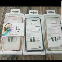 Clear Cover Samsung S7 Edge Back Case Original Oem
