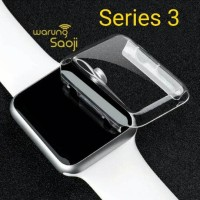 Bumper Transparant Thin Case for Apple Watch 38 42 mm Series 3