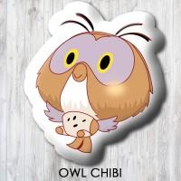 Bantal Boneka Dekorasi Winnie The Pooh - Small Owl Chibi