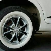Whitewall ATLAS lis ban mobil / white wall wheels R12, R13