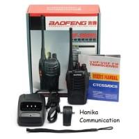 Baofeng BF-888S HT UHF + Earpiece Garansi 1 Thn BF888S BF888 BF-888