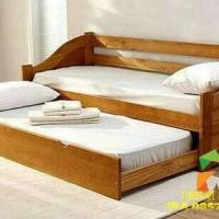 Sofa Bed Jati laci bantalan