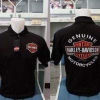 Kaos/Baju/Polo Shirt/Harley Davidson Polo - Costum Ready