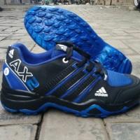 SEPATU SPORT/RUNNING ADIDAS AX2 BIRU/HITAM