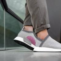sepatu adidas nmd boost city sock 2 cs2 primeknit grey pink abu
