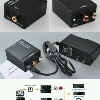Audio Digital Optic Coax To Analog Rca